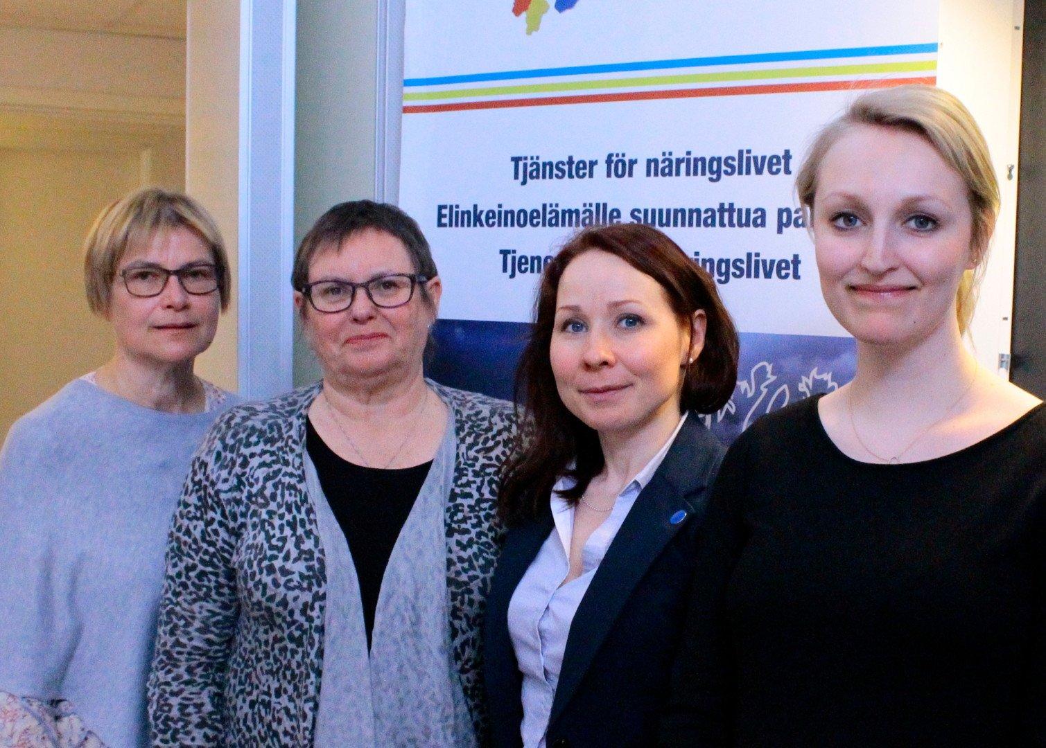Rajaneuvonnan Interreg-hankkeen työntekijä